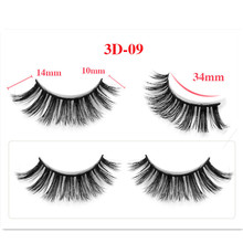 20pcs 25mm False Eyelashes Wholesale Thick Strip 3D Mink Lashes Custom Packaging Label Makeup Dramatic Long