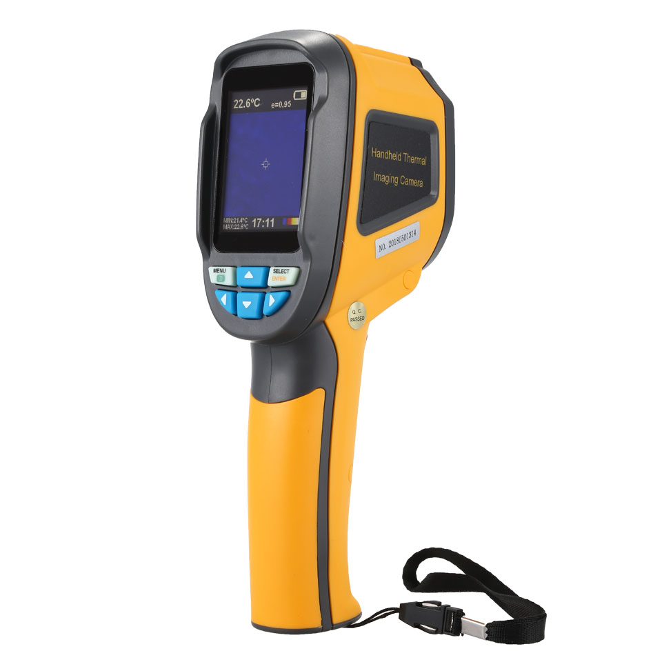 HT 02 High IR Resolution Handheld Thermal Imaging Camera Infrared Thermometer Imager with 2 4 inch