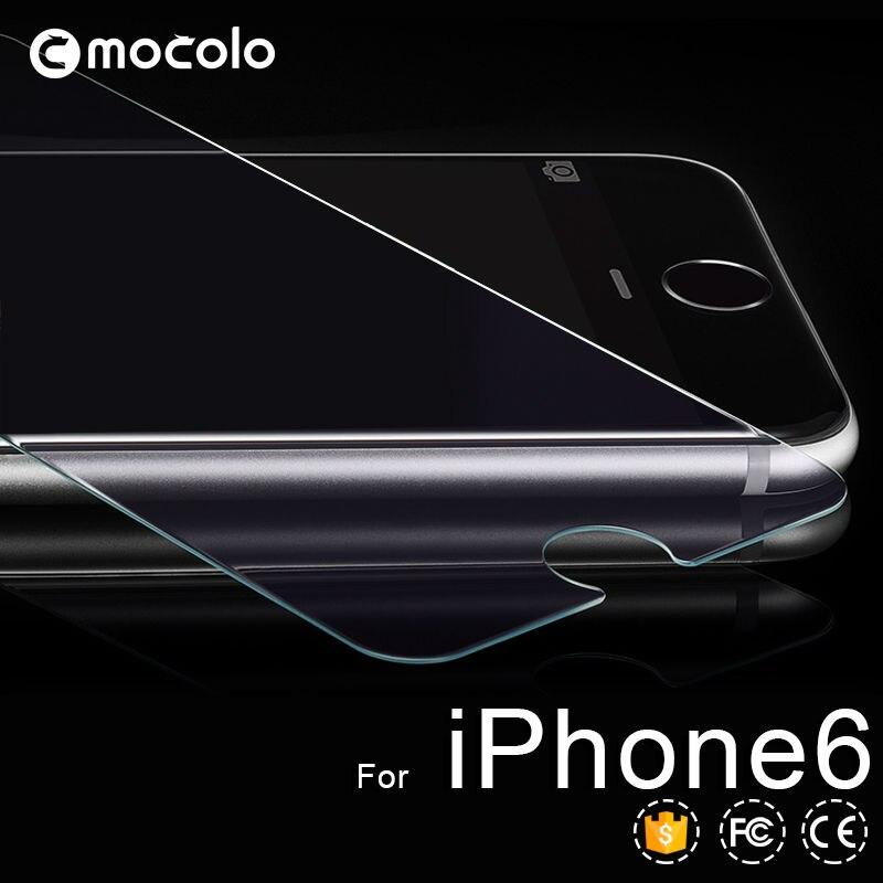 Untuk iphone 7 plus HD Jelas Film Pelindung 0.26mm 2.5D Melengkung - Aksesori dan suku cadang ponsel - Foto 3