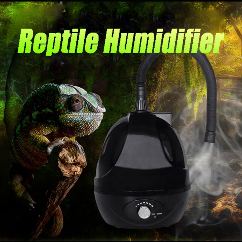 Fournitures pour animaux de compagnie humidificateur d'air de Reptile/humidificateur de gazéification de Reptile grande capacité pour toutes sortes de Reptiles/amphibiens