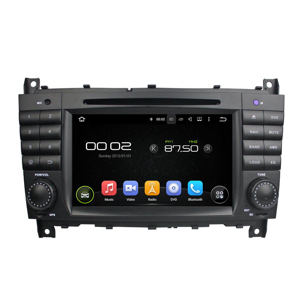 Android 8.0 octa core 4GB RAM car dvd player for BENZ W203 G Class W467 ips touch screen head units tape recorder radio gps
