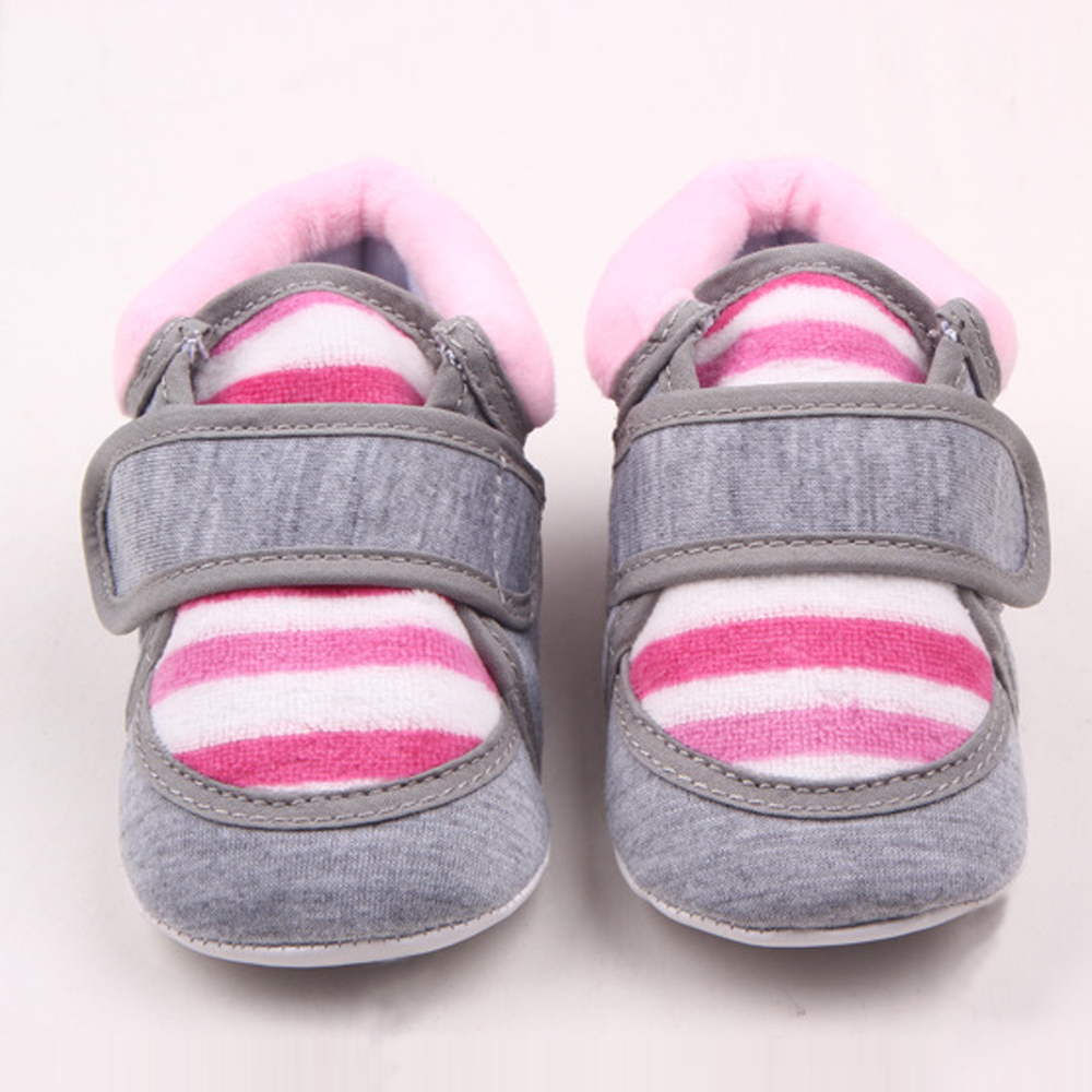 e4701a809a62e Bébé fille chaussures hiver chaud nouveau-né marcheurs infantile berceau chaussures  enfant en bas âge