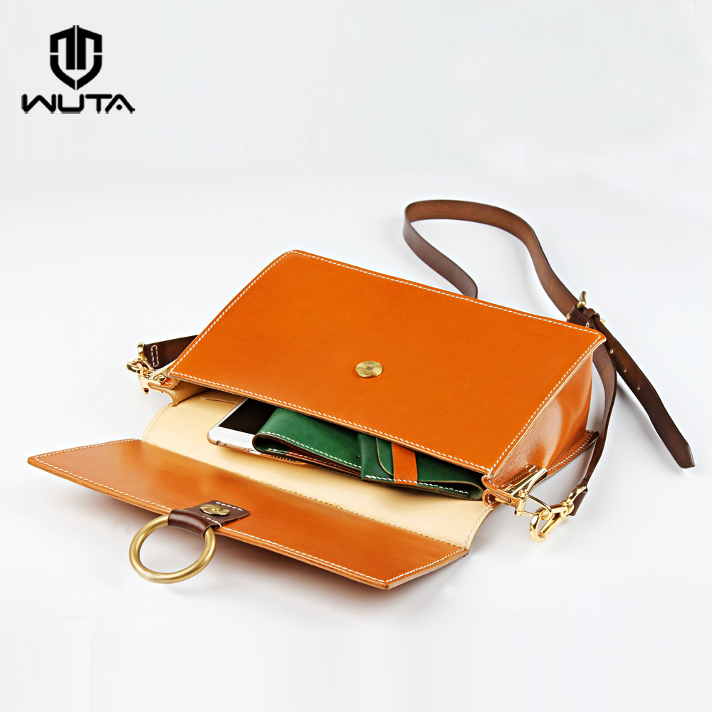 WUTA 825 Acrylic Template Leather Pattern Set Leathercraft Model For DIY Women Messenger Bag Lady Crossbody Bag Handmade Gift