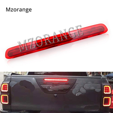 MIZIAUTO Tail brake light for Toyota Hilux/Revo 2015 2016 2017 2018 LED DRL Rear COB Reverse Trunk lamp