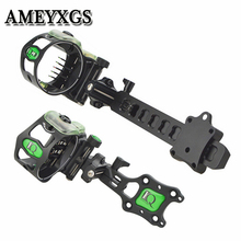 1Pc Micro Compound Bow Sight Scope Long/Short Pole Sights Mount For Outdoor Hunting Shooting Archery Accessories