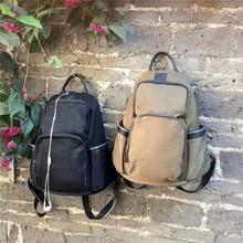 Оригинальные Модные USB рюкзак нейлон полный водонепроницаемый Повседневная Женская дорожная сумка для девочек-подростков в Корейском стиле плечо школьные сумки женские