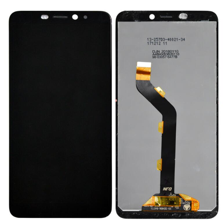Black LCD Screen For Infinix Hot S3 X573 Touch screen digitizer Sensor With LCD Display Full Assembly Replacement best aaa quality for iphone 5 5c 5s lcd touch screen digitizer full set assembly white and black color with fast shipping