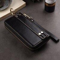 Genuine Cow Leather Wallet Finger Ring Belt Strap Mobile Phone Case For Xiaomi Mi 5X,Redmi Note 4X,Mi Note 2,Mi 5s Plus,Mix evo