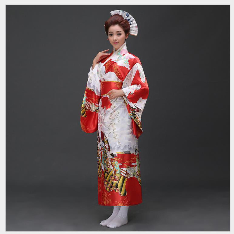 Beautiful Traditional Japanese Dress For Women Sexy Women Vintagepinkflower