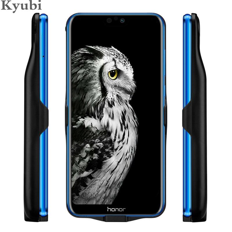 6000 mah haute capacité chargeur étui pour Huawei Honor 9 10 lite 8X MAX 20i stand couverture de charge pour Huawei Nova 4 P Smart Y9 2019