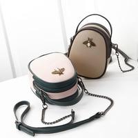Genuine Leather Mobile Phone Pouch Wallet Case Women's Crossbody Shoulder Bag for iPhone 6 7 X SE 5s 6S 5C 5S 6plus 7plus 8plus