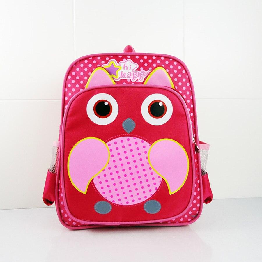 Nueva moda mochila escolar para niños OWL para niñas y niños - Mochilas