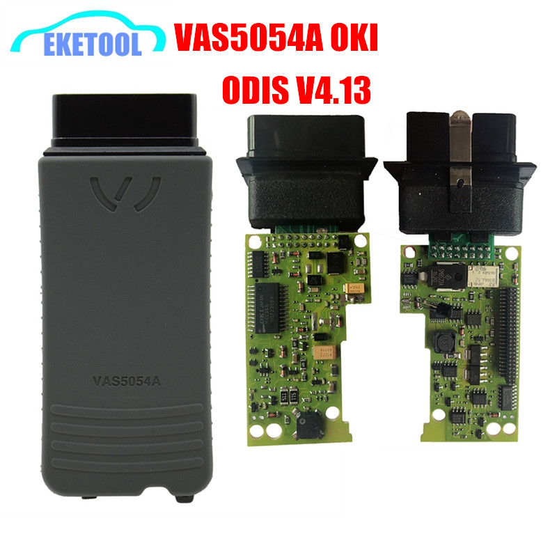 Prix pour Super Qualité ODIS 4.13 Pleine Fonction VAS5054a Avec OKI Puce Professionnel Diagnoisis Pour VAG VAS 5054A Bluetooth Prend En Charge UDS