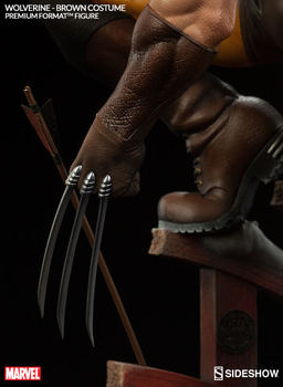 Wolverine Logan Statue Figure Collectible Model Toy  24cm