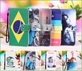 Mx4 pro novo estilo dos desenhos animados pintura pu couro tampa flip case para meizu mx4 pro (5.5 polegada) phone case, colhedor Presente + Rastreamento