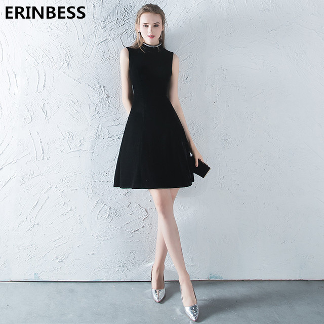 feca5f21c Vestidos De Fiesta Cortos Vintage De moda 2019 Vestido De fiesta Formal  para mujer vestidos De