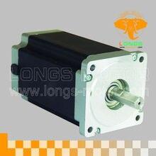 CNC Nema34 34HS7840 шаговый двигатель 567oz. in = 4.0N.m 4A 80 мм 8 проводов 80 мм маршрутизатор робот пена пластик металл