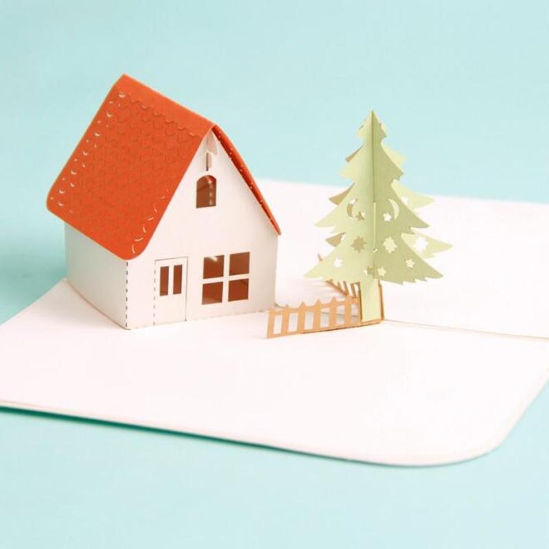 Origami House 3D - YouTube | 800x800