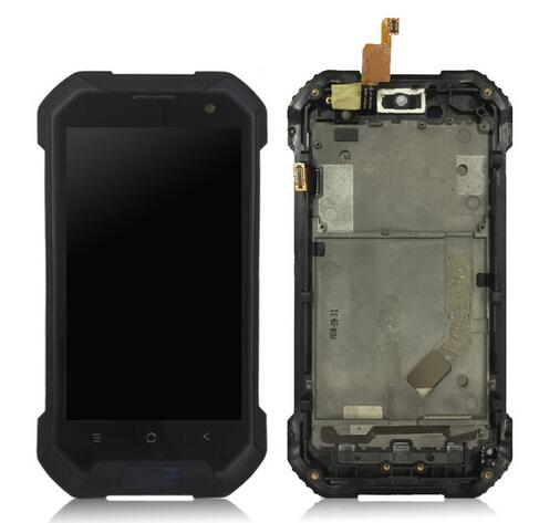 100% Tested Screen Digitizer For Blackview BV6000 LCD Display+Touch Screen Assembly Replacement + frame BV 6000