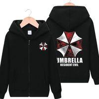 new autumn and winter hoodies biochemical crisis protection umbrella fleece sweatshirt male cotton hoodie Fashion tracksuit