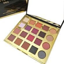20 cores Highlighter Pressionado Pigmento Em Pó Da Paleta Da Sombra de Maquiagem Maquiagem Sombra Paleta de Sombras De Ojos Profesional