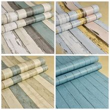 5M Self adhesive Wallpaper Roll PVC Waterproof Wall sticker Furniture Vinyl Decorative Film Wood Style Home Decor Wall Paper