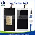 Nuevas piezas de repuesto originales para xiaomi mi 4 m4 mi4 lcd display + touch screen reemplazo digitalizador asamblea negro blanco + herramientas