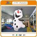 13ft/4 м высокой надувной снеговик олаф, олаф костюм