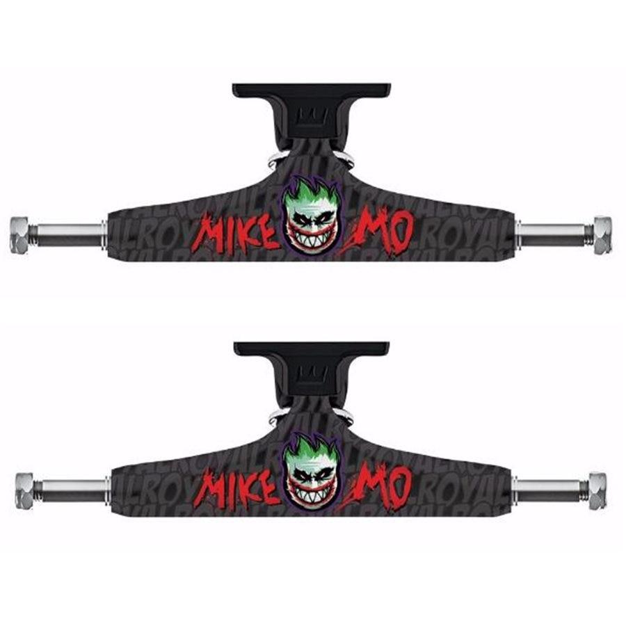 ROYAL Mike Mo/Carroll trucks de skateboard 5.25 pouces Pour Double Rocker planche de skate Pont Planche À Roulettes Support Patins Camion