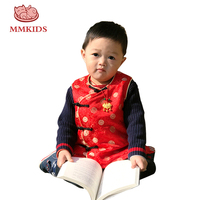 Boys Vests Fashion Autumn&Winter Printed Button Kids Waistcoat Baby Girl Clothes Children Clothing Vest Jacket Coat for Boys