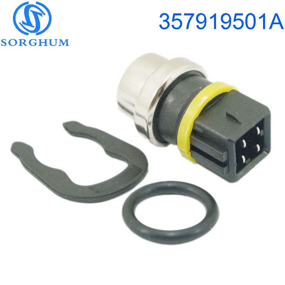 New 357919501A Auto Coolant Temperature Sensor For VOLKSWAGEN Skoda Seat