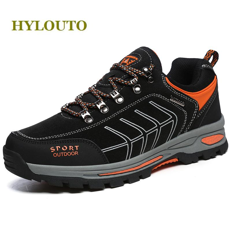 Autumn sneakers male outdoor trekking sport shoes lace-up suede leather men hiking shoes anti-skid hombre climbing shoes,#579 clorts hiking shoes for men outdoor suede leather trekking shoes lace up climbing shoes mens hiking rock shoes sneakers 3e004b