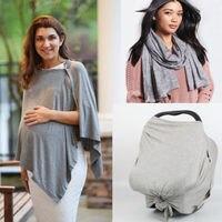 New Baby Автокресло навес Cover Up фартук грудного вскармливания шаль супер удобная шарф мама хлопок Уход Обложка