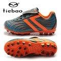 Niños de los niños de fútbol tiebao zapatos eu 28-38 botas zapatillas de entrenamiento de fútbol botas de fútbol al aire libre ag zapatos de suelas futbol