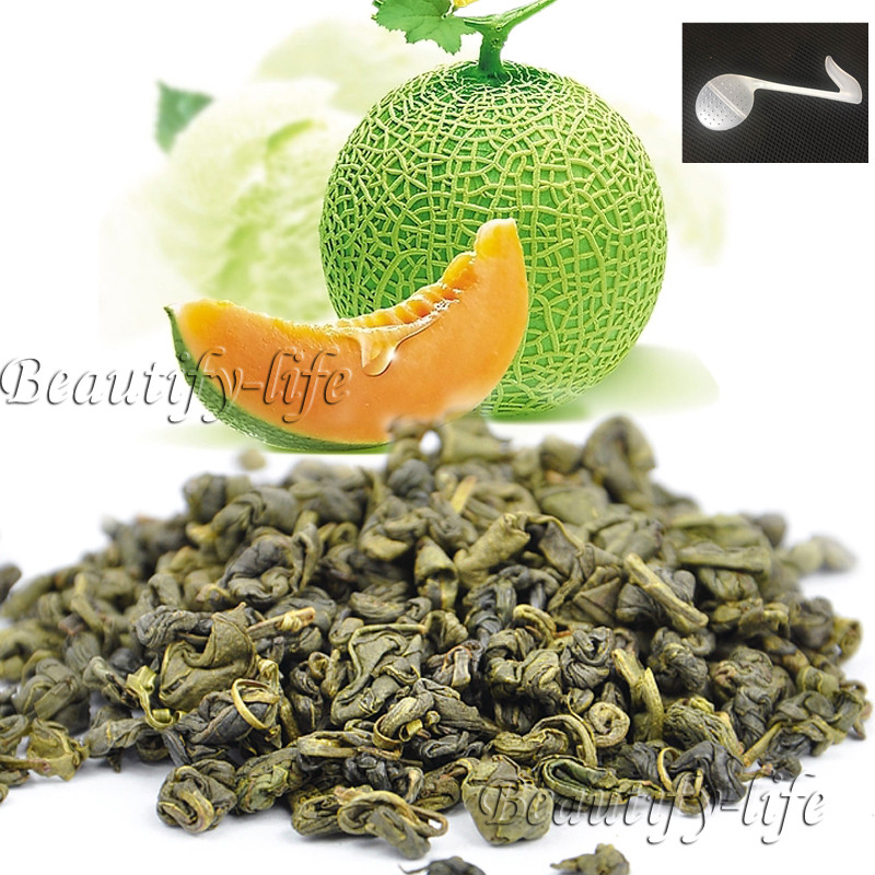 Beautiful Tea strainers+gift Cantaloupe Flavor Gre...
