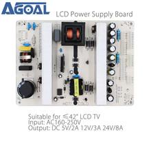 Universal LCD LED TV Listrik Papan untuk 26/32/37/42 inch TV Panel DC 5V2A/12V3A/24V8A Output 2/4/7/8/10/13 Pin(China)