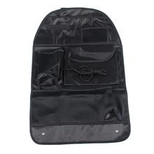 1 Pcs Auto Care Car Seat Organizer Cooler Bag Multi Pocket Arrangement Bag Back Seat Chair Car Styling Seat Cover Organiser недорого