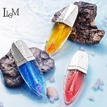 LISM Galaxy Quicksand Lip gloss Lipstick Discoloration Waterproof Lip glaze Long Lasting Without Fading Moisturizing Lipstick hannaier 269 h01 pen style moisturizing lipstick lip gloss red