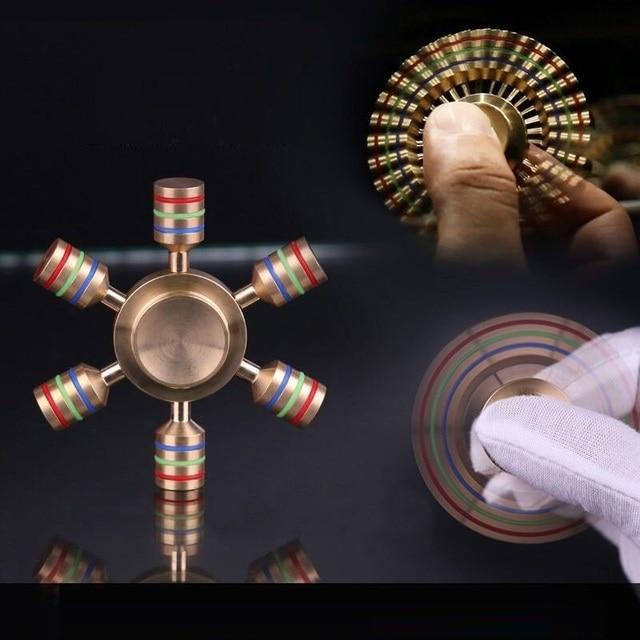 2017 Edc Fidget Spiner Toy Finger Spiner Fidget Metal Stres Wheels Fidgets Stress Edc Finger Spiner Fidget Spiners