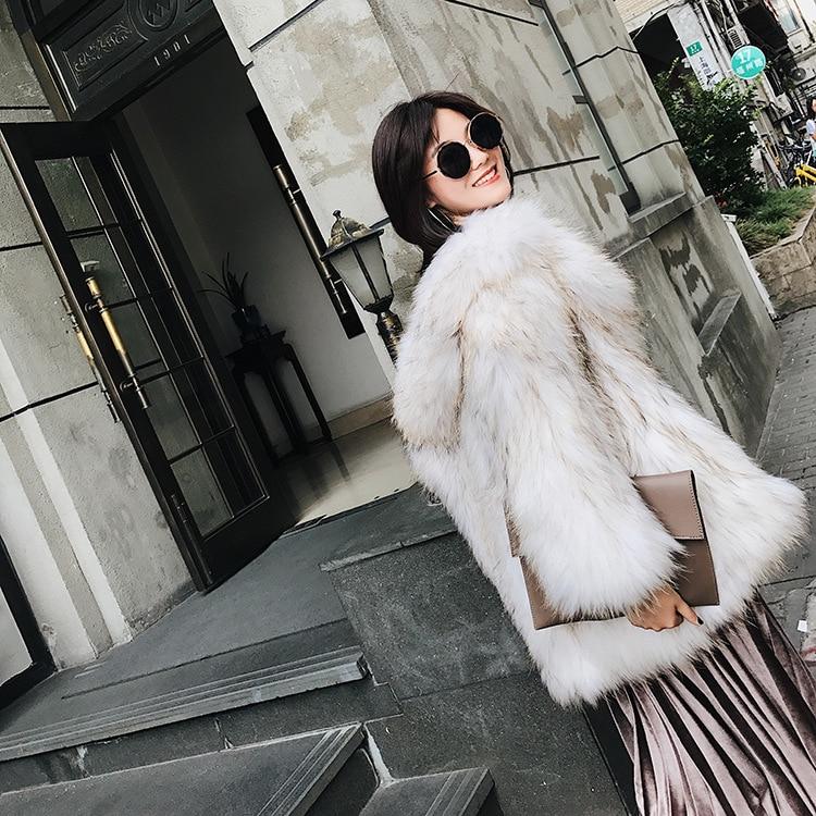 Fourrure 70 Raton Col Manteau Survêtement Crochet Laveur Réel Zippée 1 De Veste Costume Blanc Cm Tricoté Chandail vIwOxYqrIU