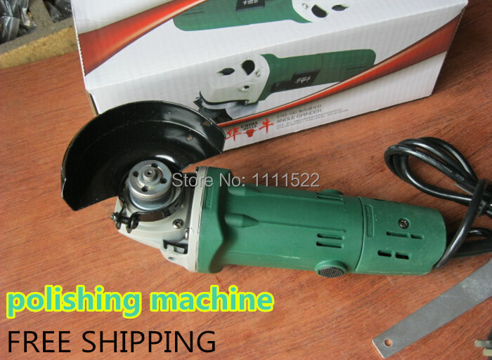 Industrial angle grinder polishing machine grinding machine grinder power tool/cutting tool/machine/electric tools angle grinder mill cutting machine polishing large scale high power angle grinder machine 125 01