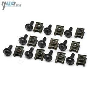 Image 3 - 10PCS 6mm CNC אופנוע גוף עבודת fairing ברגים screwse עבור honda cbr600 f2 f3 f4 f4i cbr1000rr Cbr rr 1000 1000rr cbr1000