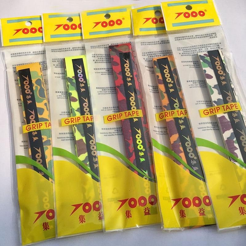 Tennis grips camouflage PU dry feel tennis overgrip badminton racket grip 20 pcs