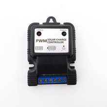 PWM 3A 7.4 V 11.1 V Solar Charger Controller Li-ion Lithium 18650 Battery Charger Regulator PV Street Ligh(China)