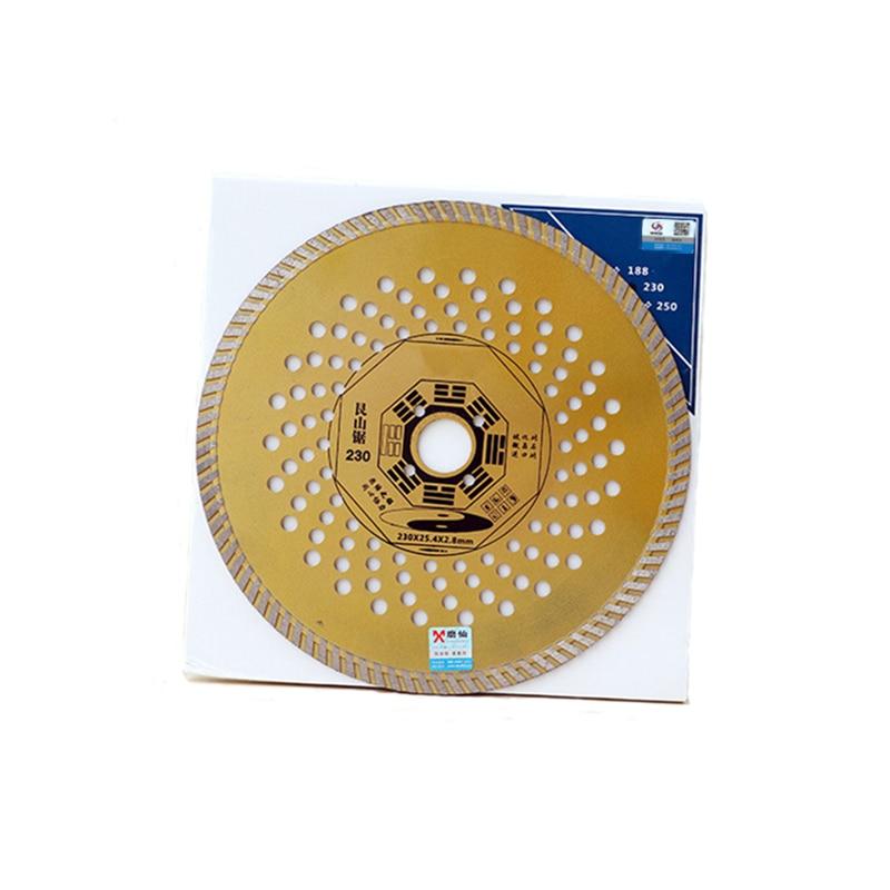 RIJILEI 9 pollici 230mm * 25,4 * 2,8 diamante ultrasottile disco - Lama per sega - Fotografia 6