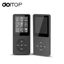 DOITOP MP4 Player 80 Hours Music Playing 1.8″ TFT Screen HIFI Sound MP4 Portable Audio Video Player With E-book FM Recorder