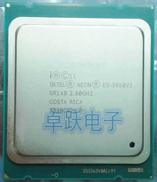 Intel Xeon Processor E5-2650 V2 E5 2650 V2 CPU 2.6GHZ LGA 2011 SR1A8 Octa Core Desktop processor e5 2650V2