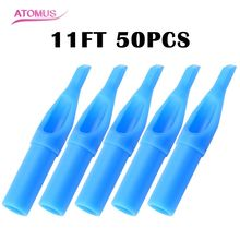 Nozzle-Tips-Tube Tattoo-Supplies Sterile Disposable Blue ATOMUS for U-Pick 50pcs/Lot