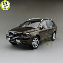 1/18 Volvo XC Classic SUV литая модель автомобиля SUV сумеречные бронзовые игрушки подарки