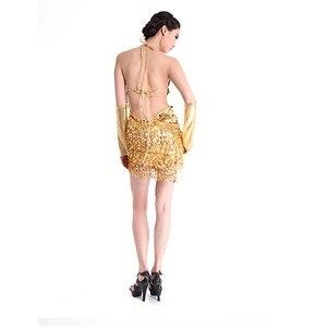Image 3 - Latin Dance Dress Special Offer Latin Dance Dress Women Latin Dance Costume Latin Salsa Dresses Fringe Dress